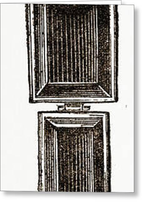 Sunshade Suspender Greeting Card