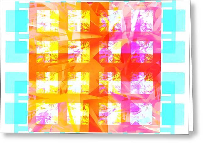 Sunshine Abstract 2 Greeting Card
