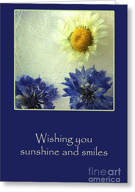 Sunshine And Smiles Greeting Card by Randi Grace Nilsberg