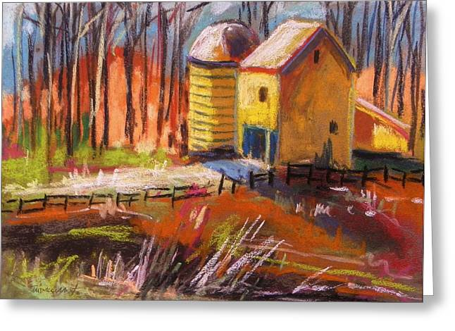 Sunshine Farm Greeting Card by John Williams