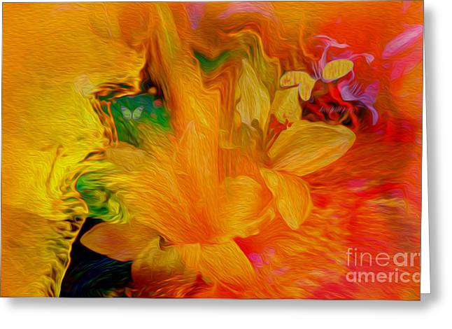 Sunshine In My Heart For You Greeting Card by Sherri  Of Palm Springs