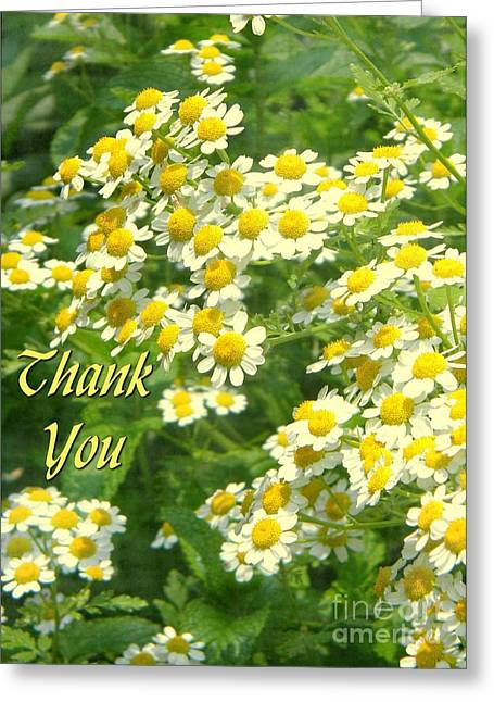 Greeting Card featuring the digital art Sunshine Thank You by JH Designs