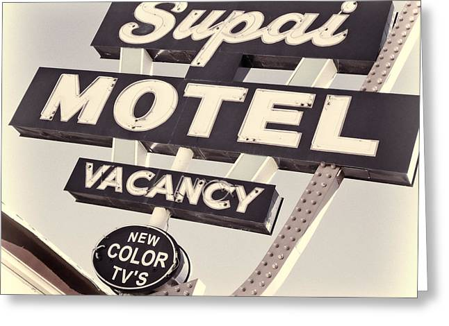 Supai Motel Greeting Card