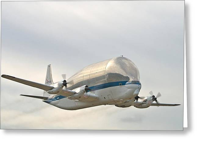 Super Guppy Greeting Card