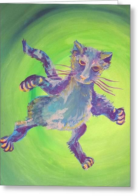 Super Kitty Greeting Card