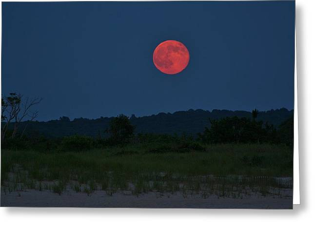 Super Moon July 2014 Greeting Card