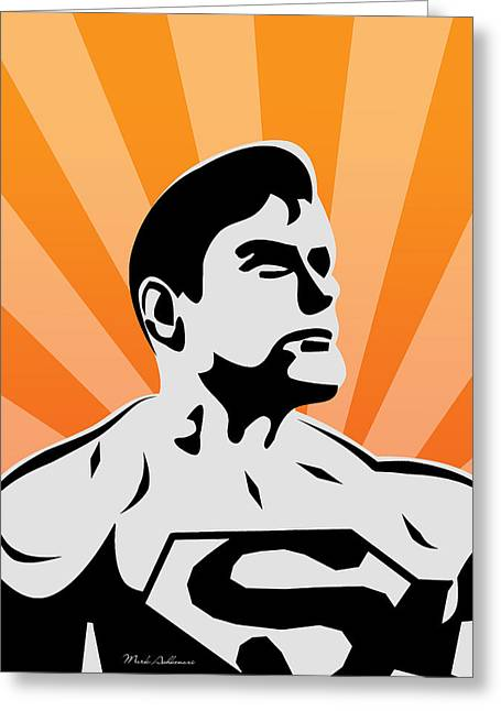 Superman 6 Greeting Card