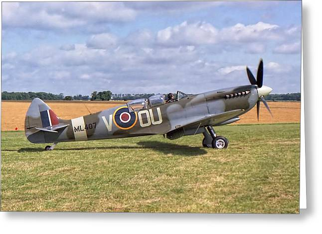 Supermarine Spitfire T9 Greeting Card