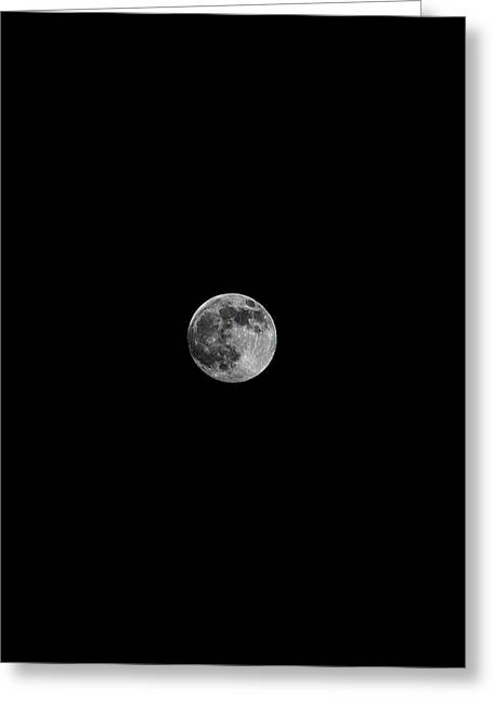 Supermoon 2 Greeting Card by Kelly Howe