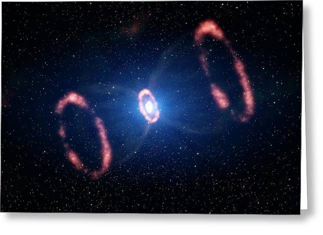 Supernova 1987a Remnant Greeting Card