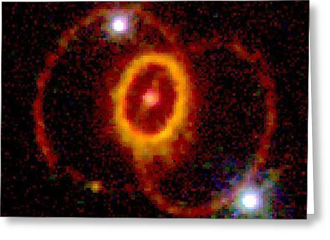 Supernova 1987a Greeting Card