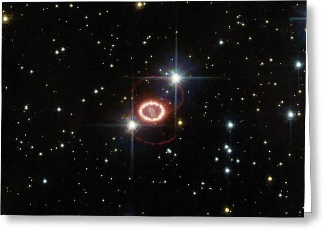 Supernova Sn 1987a Greeting Card