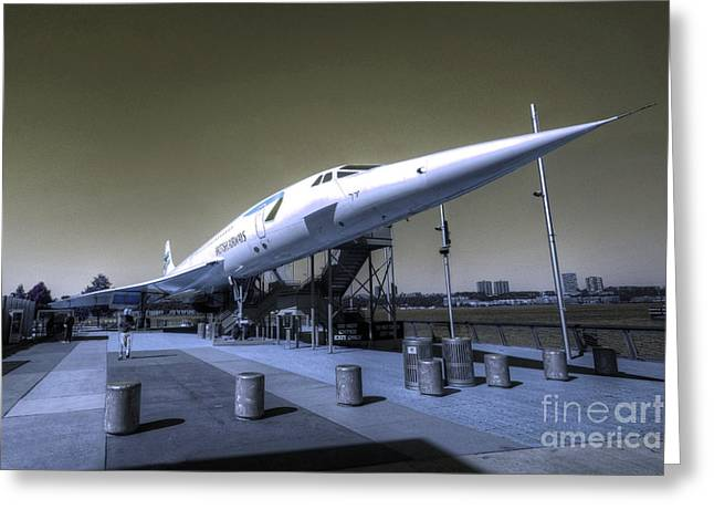Supersonic  Greeting Card by Rob Hawkins
