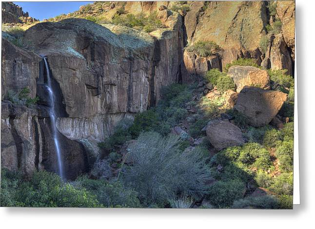 Superstition Falls Greeting Card