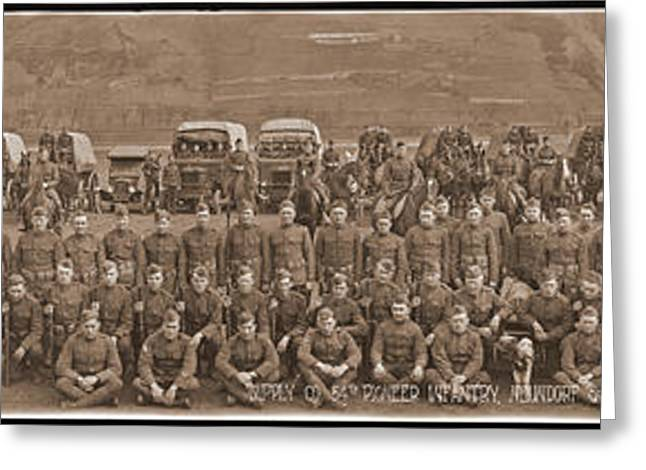 Supply Co. 54th Pioneer Infantry Greeting Card