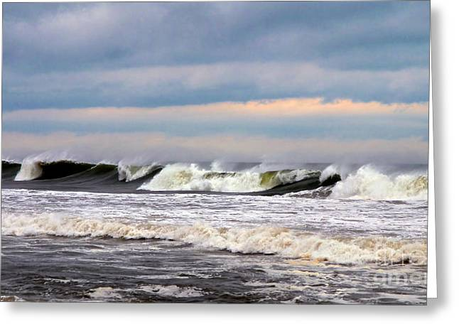 Surf City Surf Greeting Card