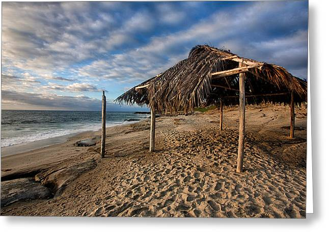 Surf Shack II Greeting Card by Peter Tellone