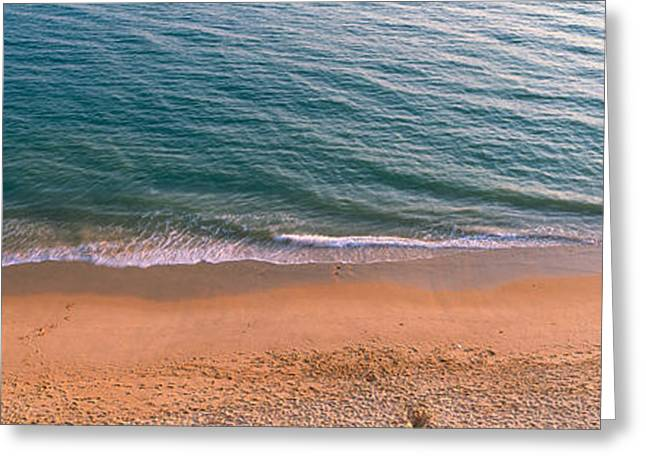 Surf The Algarve Portugal Greeting Card by Panoramic Images