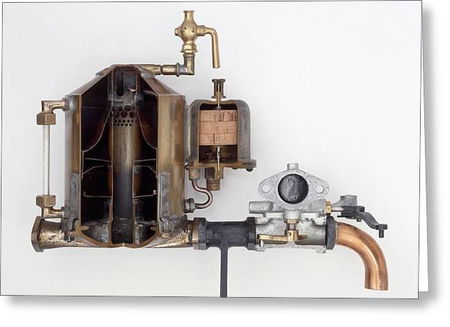 Surface Carburettor Greeting Card by Dorling Kindersley/uig