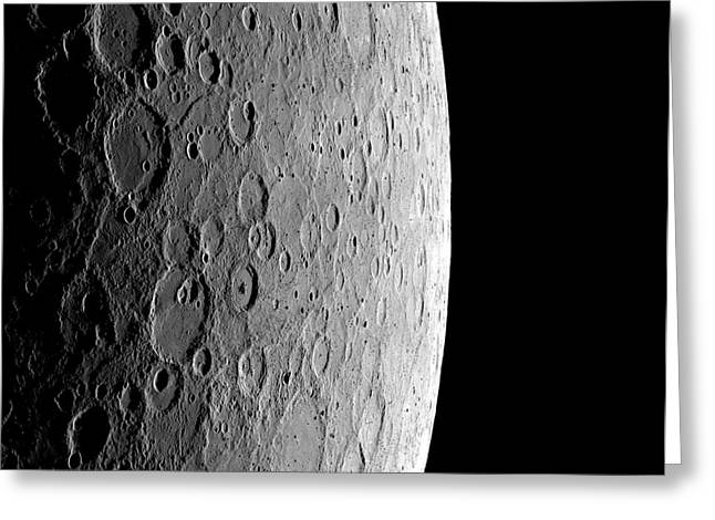Surface Of Mercury Greeting Card