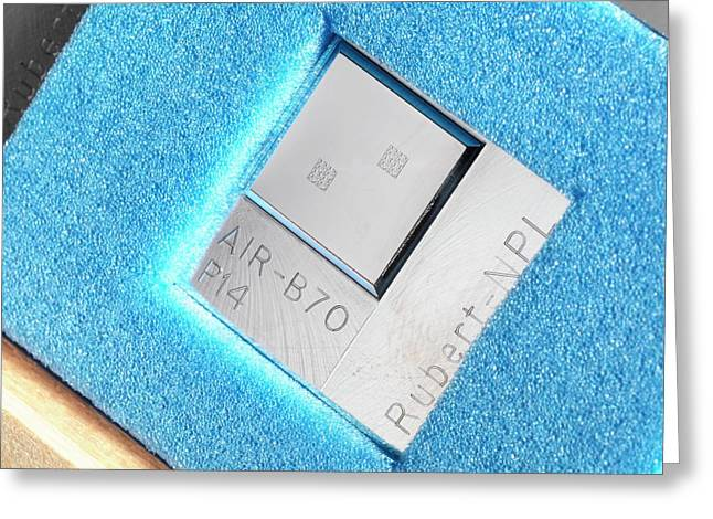 Surface Texture Calibration Box Greeting Card