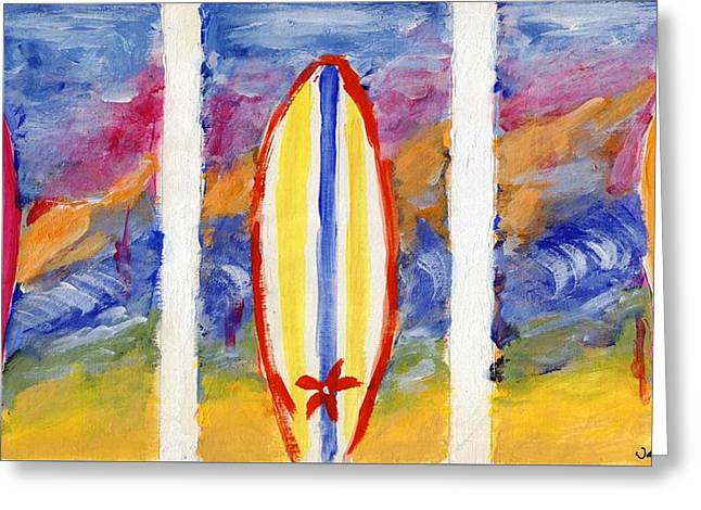 Surfboards 1 Greeting Card