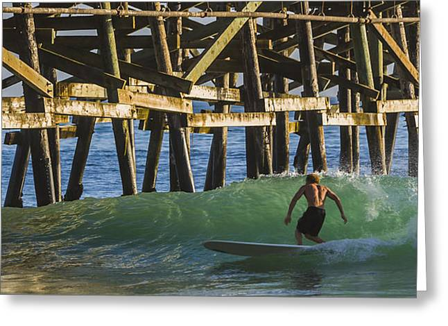 Surfer Dude 1 Greeting Card by Scott Campbell
