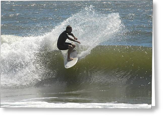 Surfing 448 Greeting Card