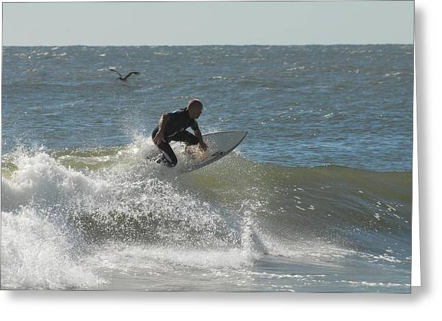 Surfing 451 Greeting Card
