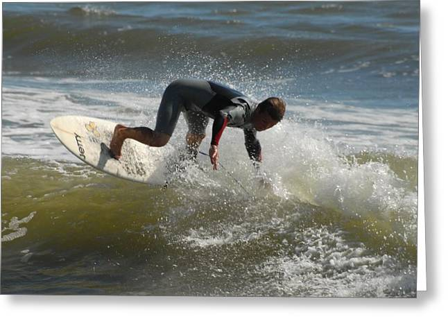 Surfing 455 Greeting Card