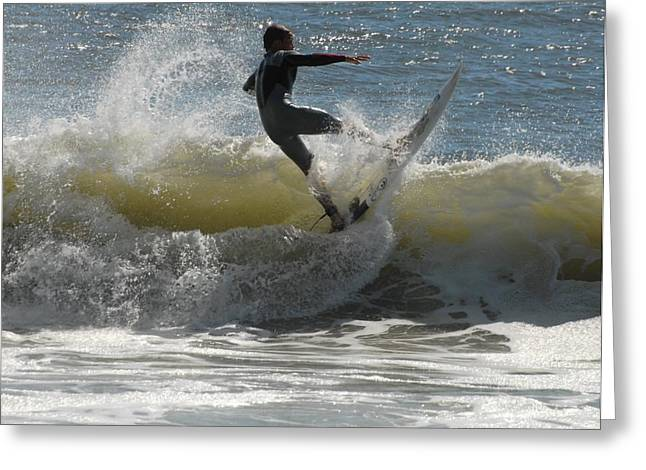 Surfing 459 Greeting Card