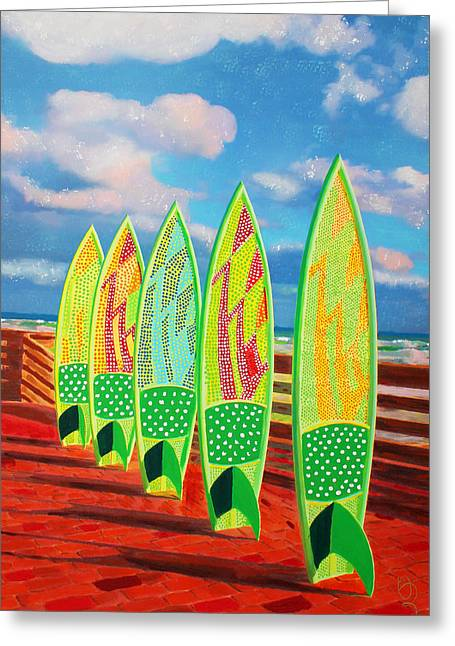 Surfs Up Greeting Card