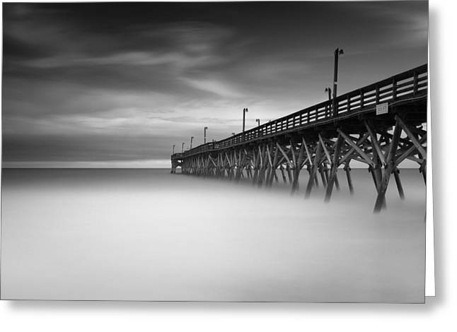 Surfside Beach Pier Greeting Card by Ivo Kerssemakers