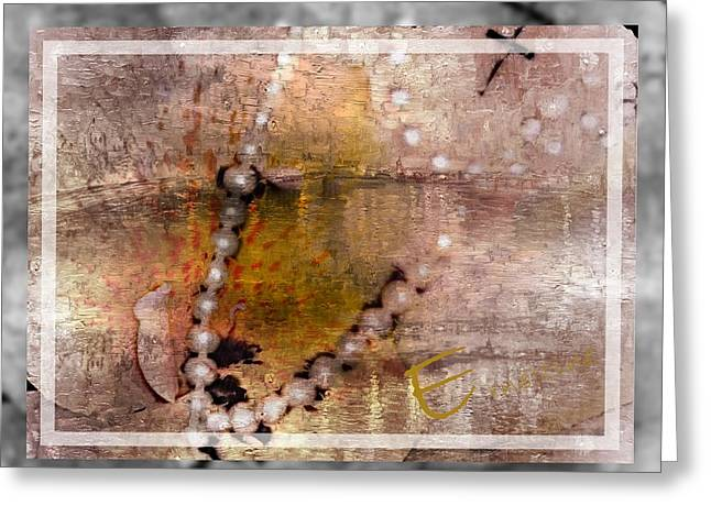 Surrender To Love Greeting Card by Ernestine Manowarda