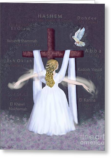 Surrender Version 2 Greeting Card by Constance Woods