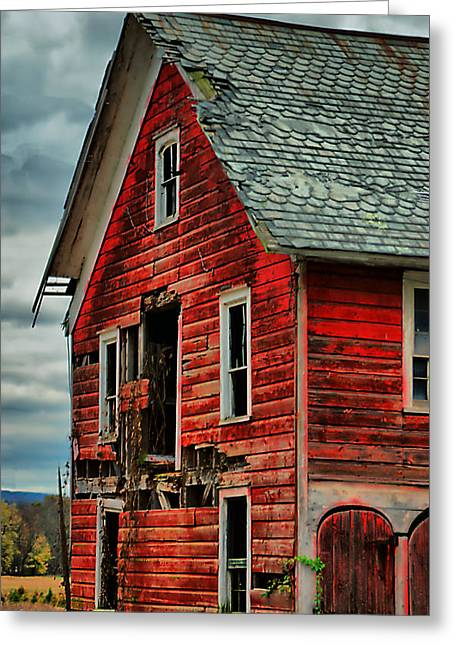 Sussex Barn  Greeting Card