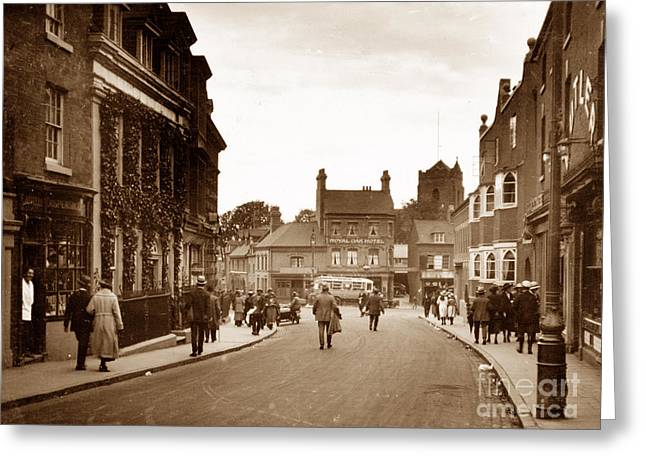 Sutton Coldfield England Greeting Card