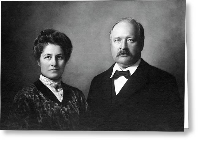 Svante Arrhenius Greeting Card