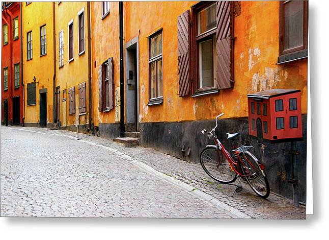 Sweden, Stockholm Greeting Card by Jaynes Gallery