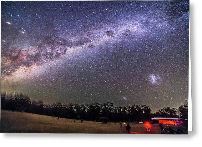 Sweep Of The Southern Milky Way Greeting Card