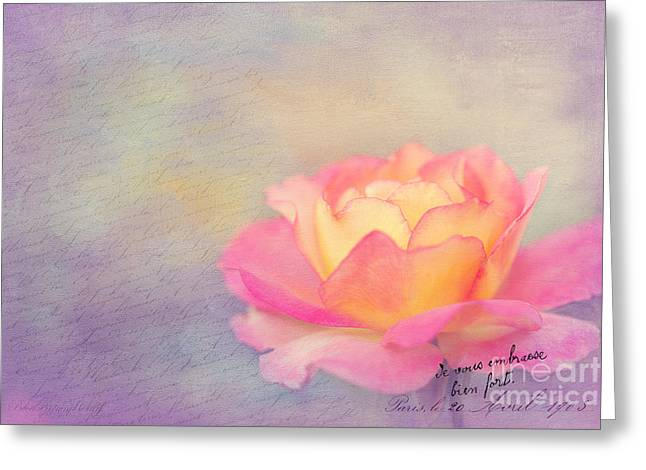 Sweet Are The Memories Greeting Card by Beve Brown-Clark Photography