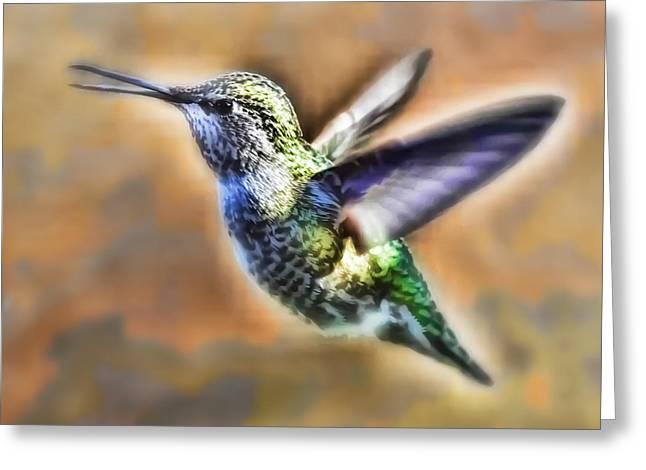 Sweet Beaks Greeting Card by Kenneth Haley