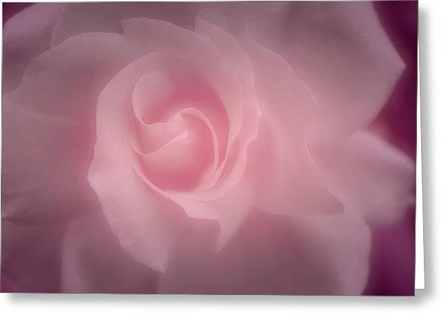 Sweet Caress Greeting Card by The Art Of Marilyn Ridoutt-Greene