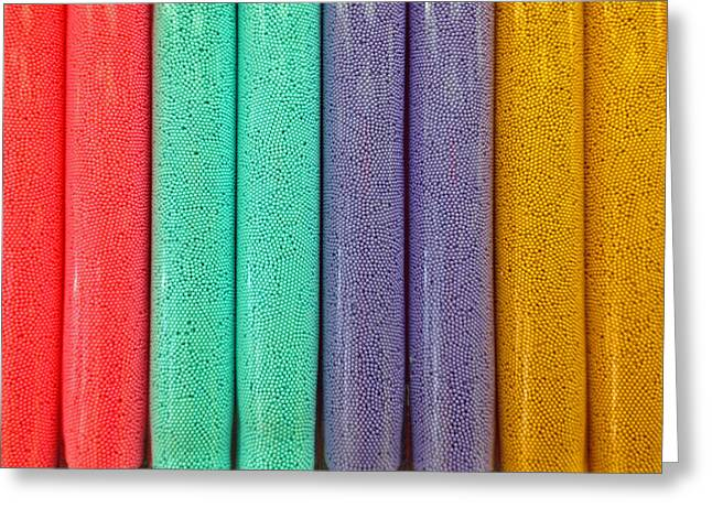Sweet Colors Greeting Card