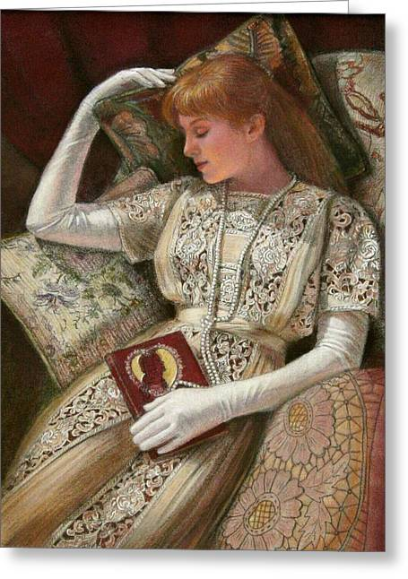 Sweet Dreams Greeting Card by Sue Halstenberg