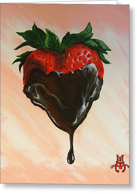 Sweet Heart Greeting Card by Marco Antonio Aguilar
