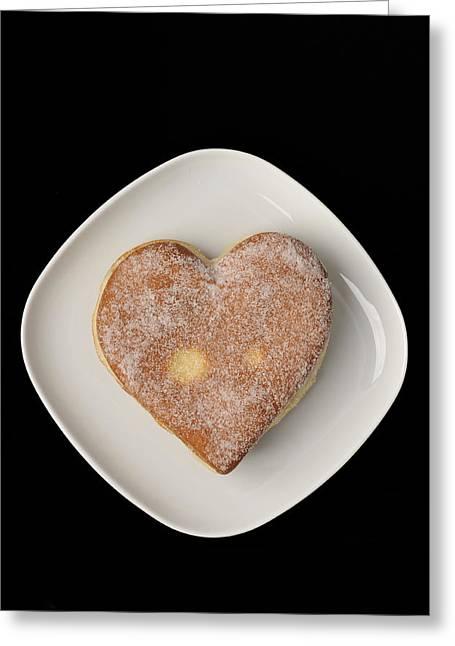 Sweet Heart Greeting Card by Matthias Hauser