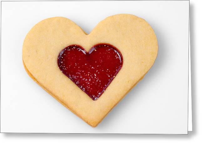 Sweet Heart - Symbol For Love Valentine Relationship Greeting Card by Matthias Hauser