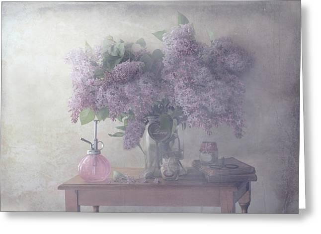Sweet Lilacs Greeting Card