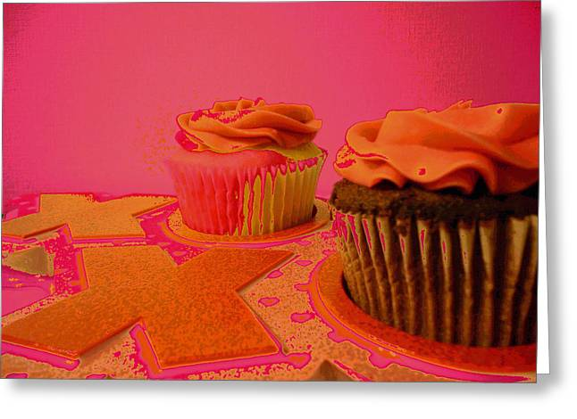 Sweet Love Greeting Card by Erica  Darknell